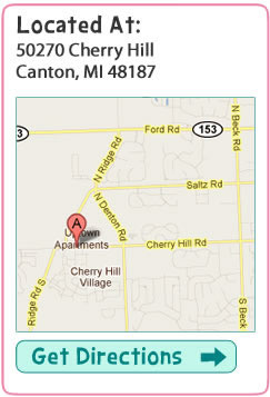 Cherry hill location in canton michigan, for a great pet groomers, dog groomer